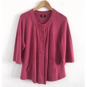 Cardigan sweater size 22-24W